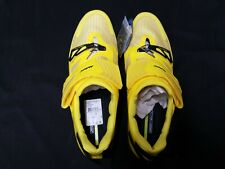 Mavic Cosmic Ultimate Tri Triathlon race cycling bicycle shoe 7.5 yellow new