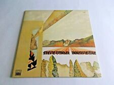 Stevie Wonder Innervisions LP 1973 Tamla Gatefold Higher Ground Vinyl Record