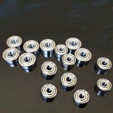 50pcs 695ZZ 5x13x4 mm Metal Double Shielded Ball Bearing Bearings 695z 5*13*4 mm