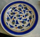 Antique Continental TIN GLAZE EARTHENWARE charger