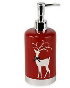 Winter Wonderland Reindeer Games Lotion Soap Pump Dispenser