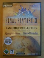Final Fantasy XI 11 Online Rise of Zilart + Chains of Promathia - PC Spiel