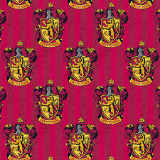Camelot Harry Potter Digital Gryffindor Multi 100% cotton fabric by the yard