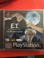E.T Playstation One Ps1 Brand new Factory Sealed Black label Free case protector