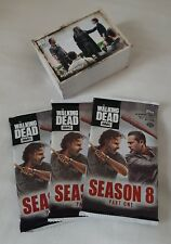 Topps Walking Dead Season 8 Part 1 Complete Trading Card Set