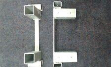 Brennholz Stapelhilfe Paar Universal bis 2 m Höhe beliebig erweiterbar verzinkt