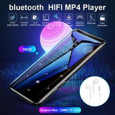 bluetooth 16Gb Mp3 Player Mp4 Sport Lossless Sound Hifi Music Player Am/Fm Us