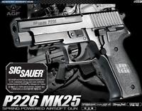 ACADEMY P226 Full Size Non Metal Hand Gun MK25 Airsoft Pistol BB Toy Gun Replica