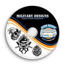 MILITARY ARMY NAVY CLIPART-VECTOR CLIP ART-VINYL CUTTER PLOTTER EPS GRAPHICS CD
