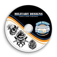 Military Army Navy Clipart Vector Clip Art Vinyl Cutter Plotter Eps Graphics Cd