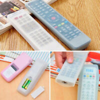 TV Home Air Remote Control Silicone Case Cover Conditioner Anti-dust Waterproof