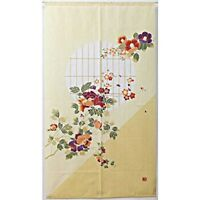 Japanese Noren Curtains Romantic Taisho Period 85x150cm From Japan with Tracking