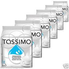 6 x Tassimo Milk Creamer T disc Capsules - For Black Coffee 6 Packs, 96 T-disc