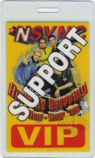 NSYNC 1999 TOUR LAMINATED BACKSTAGE PASS Justin Timberlake