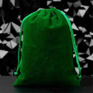 2X Small Gift Bag Velvet Cloth Drawstring Bag Jewelry Ring Pouch Wedding Favors