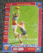 2015 Teamcoach 3D Footy Flix Card #FF-02 PEARCE HANLEY - Brisbane Lions