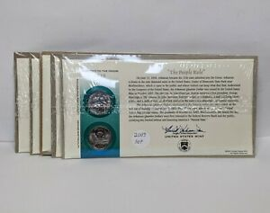 2003US Mint State Quarters First Day Cover Complete Set P&D Stamp Sealed 185502V