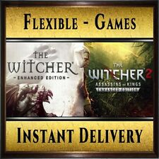 The Witcher 1 & 2 - Steam Gift Digital Key [PC] Region Free - Instant Delivery