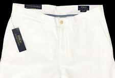 Polo Ralph Lauren Flat Front Chino Pants Men's 34 X 30 White Classic Fit