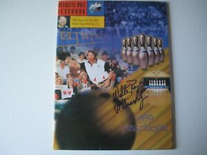 Walter Ray Williams JR PBA Bowler Bowling Signed Autographed 1999 Yearbook RARE