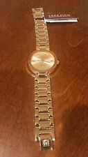 Lady's Anne Klein Rose Gold Watch w/Diamond -NEW IN BOX
