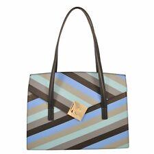 SHOPPING BAG TOSCA BLU / LINEA BLOSSOM TEA / Art. TF167B280 NERO MULTICOLOR
