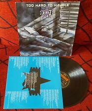 NO EXQZE ** Too Hard To Handle ** ORIGINAL & RARE 1988 Spain PRESS LP w/ INSERT