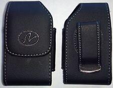 V078 Samsung Gusto 2 Vertical Flip Phone Pouch Case Holster w Rotating Belt Clip