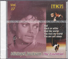 CD 17T MICHAEL JACKSON ESSENTIAL VOL 17  PRESSAGE TUNISIE NEUF SCELLE