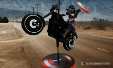 MARVEL FACTORY ENTERTAINMENT CAPTAIN AMERICA ON MOTORCYCLE AGE OF ULTRON PREMIUM