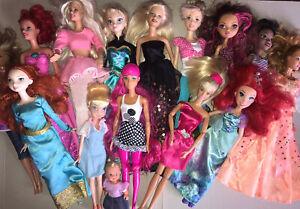 Gros Lot de Poupées Barbie Disney