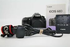 Canon EOS 60D 18.0MP Digital SLR Camera - Black
