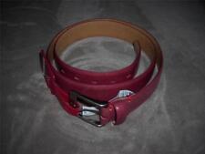 Levi's Mens Dark Blue,Gray,Red Genuine Leather Belt~Szs 34,36,38,40~MSRP $28~NWT