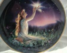 "Jeane Dixon - Crystal Power - K.Reinert Series 8"" Porcelain Plate limited"