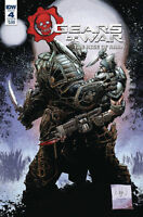 GEARS OF WAR #4  RISE OF RAAM IDW COVER B VARIANT