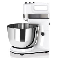 250W 5-Speed Stand Mixer with Dough Hooks Beaters and Stainless Steel Bowl New