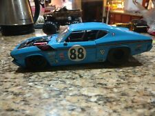 Jada 1969 Chevy Chevelle SS blue #68 1:18 Scale severely damaged used loose