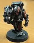 Warhammer 40,000 40K Imperial Space Marine Metal Servitor With Heavy Bolter 2
