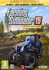 Farming Simulator 15 - Edition Gold Focus Jeu Video