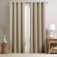 New ListingVangao Room Darkening Curtains Triple Weave Blackout Drapes for Bedroom 2 Panels