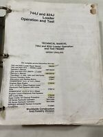 John Deere 744J & 824J Loader Operation & Test Manual