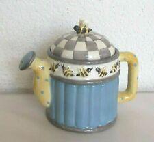 Sakura Debbie Mumm Small Watering Can Teapot with Bees