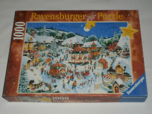 Fröhliche Weihnachtszeit Christmas X-mas Puzzle Ravensburg JIGSAW Puzzel Limited