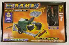 Revell 1/24 Rams Vicious War Cycle Motorcycle Armed New