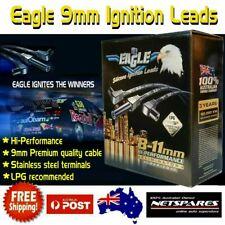 Eagle 9mm Ignition Spark Plug Leads Holden Commodore VN VP VR V6 [Colour: Red]