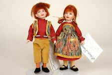 Hansel and Gretel Set storybook character dolls by Robert Tonner