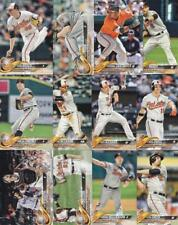 2018 TOPPS Series 2 BALTIMORE ORIOLES team set (12 cards) SANTANDER RC