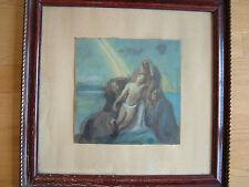 Künstlerische Malereien von 1900-1949 im Expressionismus-Pastell