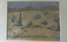 Original watercolour by John Cosmo Clark British 1897-1967 Southern Landscape