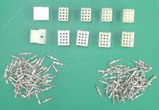 5 Male And 5 Female 12-Pin .093 Molex Connectors + 75 Male, 75 Female Pins. CM